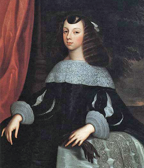 Catherine of Braganza After Dirk Stoop (circa 16181686) [Public domain], via Wikimedia Commons