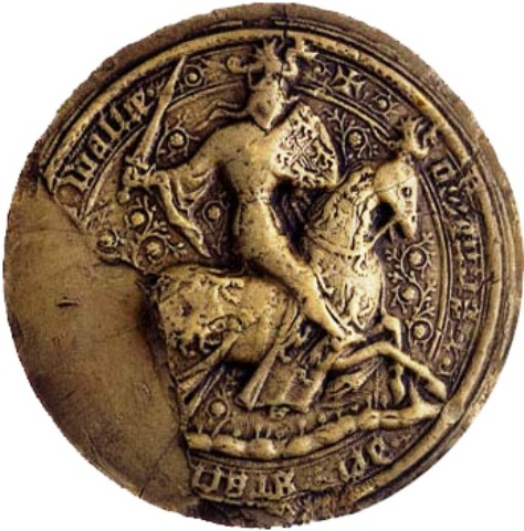 Seal of Owain Glyndwr By de:Benutzer:Rdb [Public domain], via Wikimedia Commons